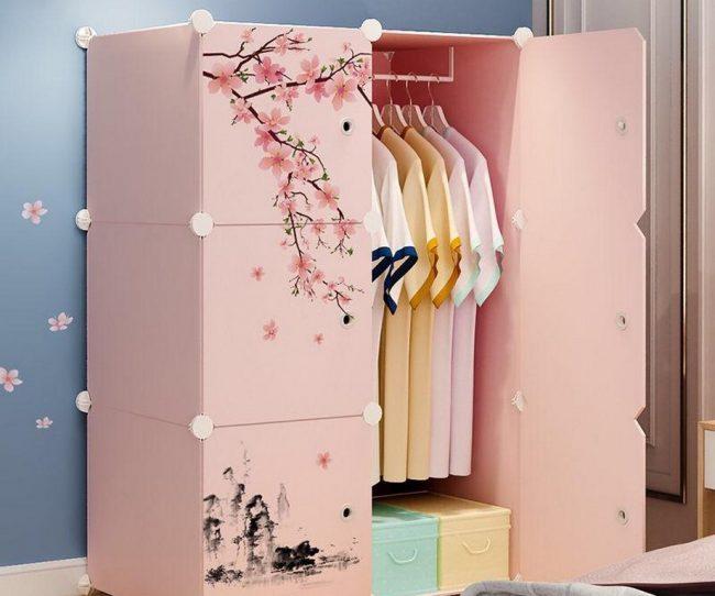 Tủ quần áo lắp ghép đa năng