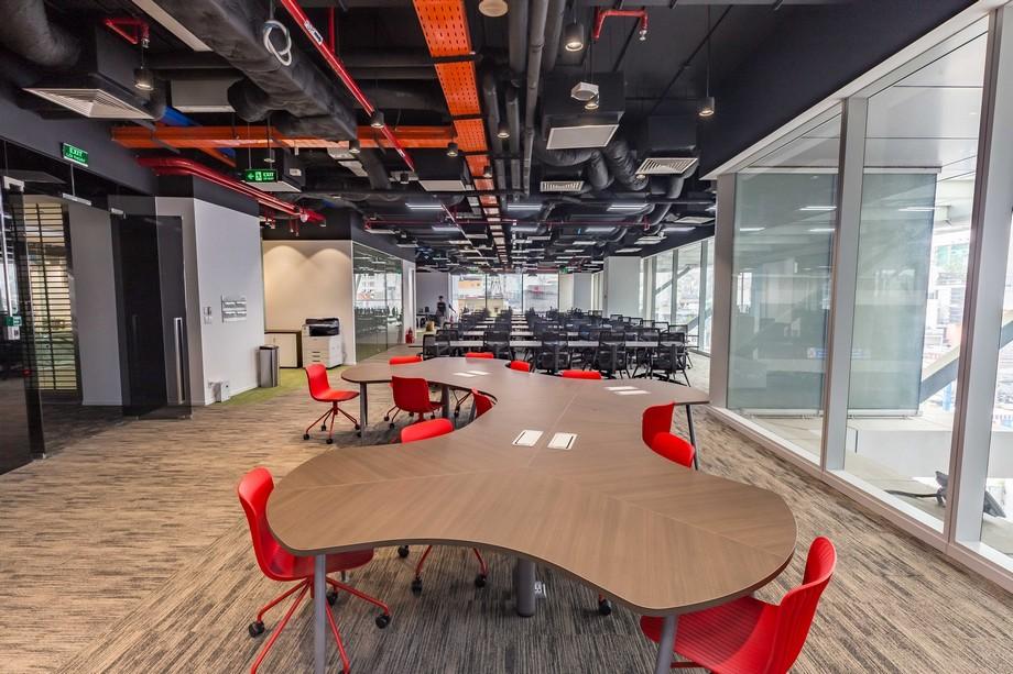 Không gian làm việc chung của UP Coworking space Bách Khoa HCM