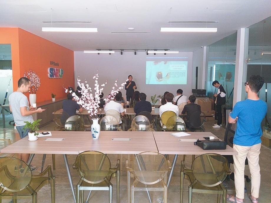 Phòng hội thảo tại UP Coworking space Bách Khoa HCM
