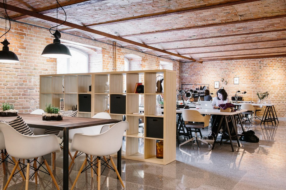 Thiết kế nội thất văn phòng làm việc chung tại Đức