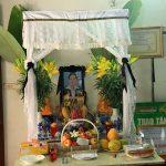 Những điều cần biết về bàn thờ đám ma