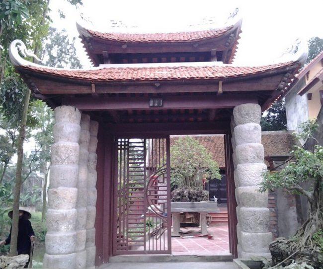 Cổng nhà gỗ đẹp