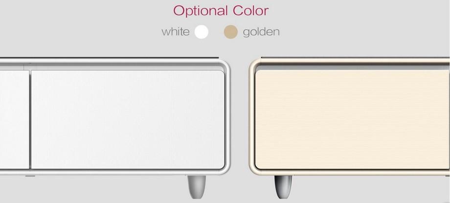 Mẫu bàn trà thông minh được thiết kế 2 màu đẹp