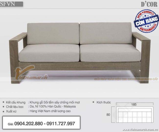 mẫu sofa văng nhỏ gọn đẹp