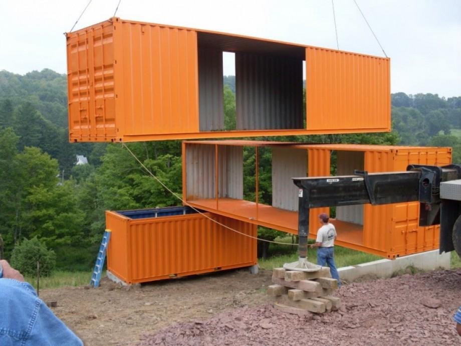 Thi công xây dựng nhà container nhanh và gọn gàng