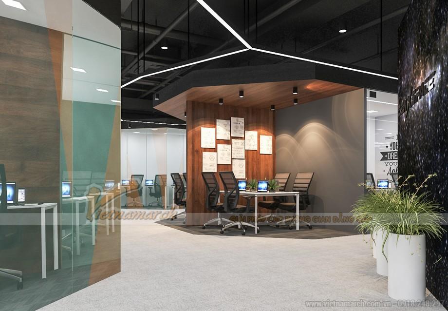 Thiết kế không gian làm việc chung coworking space Cenx space mở rộng