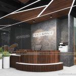 Thiết kế coworking spacce Cen XSpace  với cảm hứng đến từ vũ trụ độc đáo