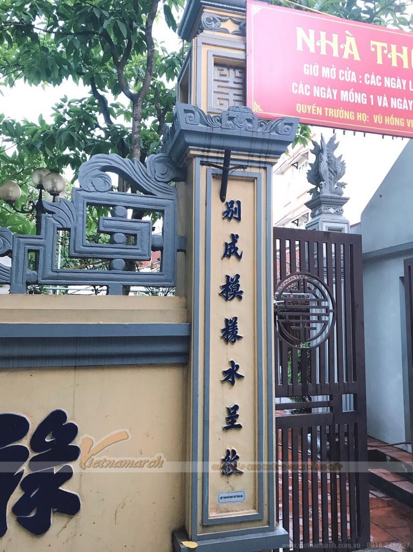 Thiết kế nhà thờ họ Vũ xã Thanh Liệt, Thanh Trì Hà Nội