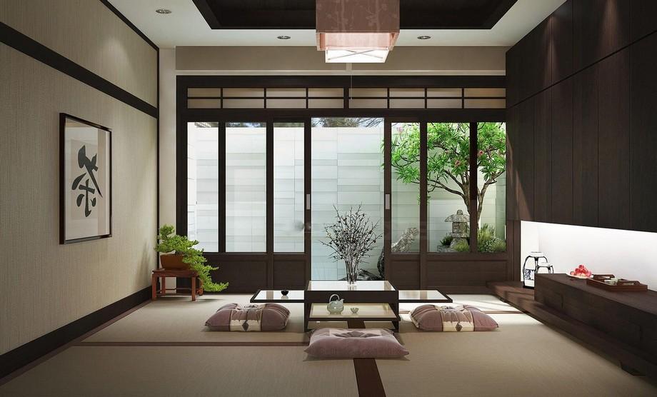 Thiết kế nội thất chung cư kiểu Nhật mang phong cách tối giản những tiện nghi