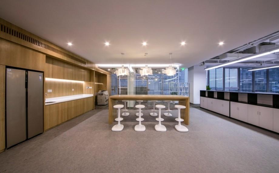 Thiết kế văn phòng làm việc chuyên về công nghệ phim của Trung Quốc