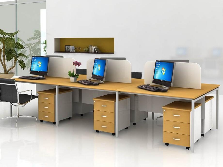 Thiết kế nội thất văn phòng hẹp với không gian mở