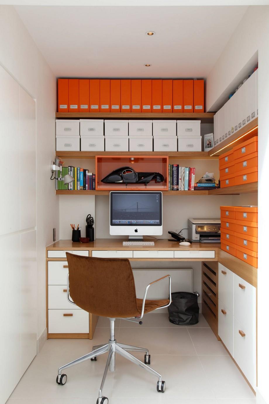Những hình ảnh văn phòng làm việc tại nhà nhỏ hiện đại