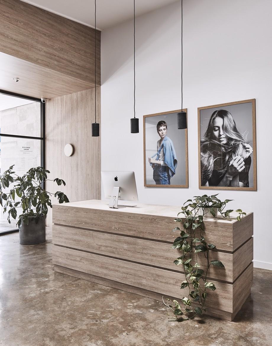 Thiết kế sảnh, quầy lễ tân văn phòng