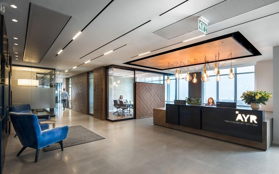 Thiết kế sảnh văn phòng hiện đại