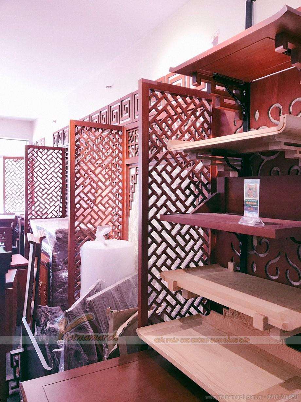 Xưởng liên tục sản xuất các mẫu bàn thờ xuất khẩu gỗ gõ , gỗ sồi cao cấp , chuẩn thước lỗ ban