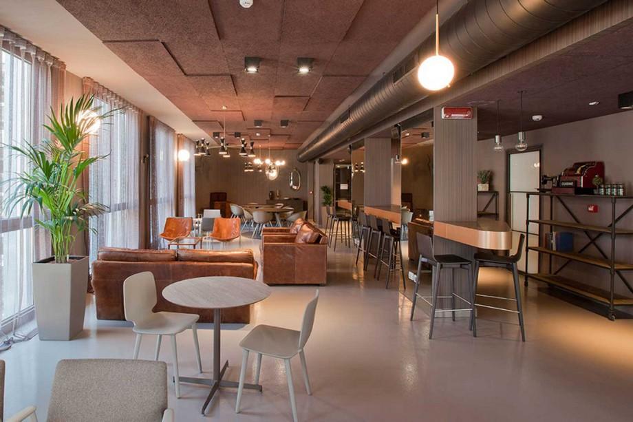 Mẫu thiết kế không gian làm việc chung - coworking space COPERNICO tại Milano