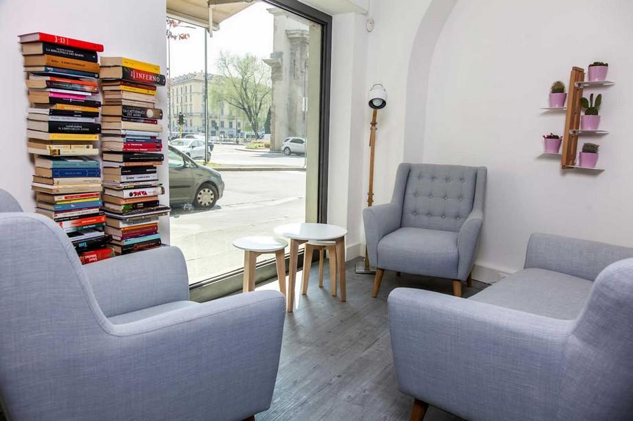 Mẫu thiết kế không gian làm việc chung - coworking space Coffice tại Milano