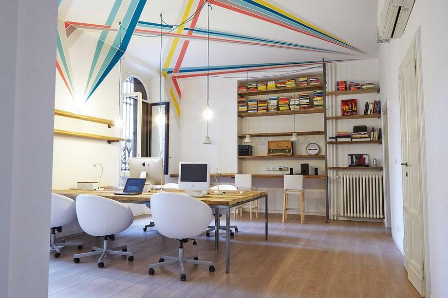 Mẫu thiết kế không gian làm việc chung - coworking spaceQf / Qwork + Qbaby tại Milano