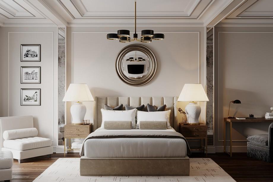 Thiết kế phòng ngủ nhà chung cư đẹp nhất 2019 phong cách tân cổ điển