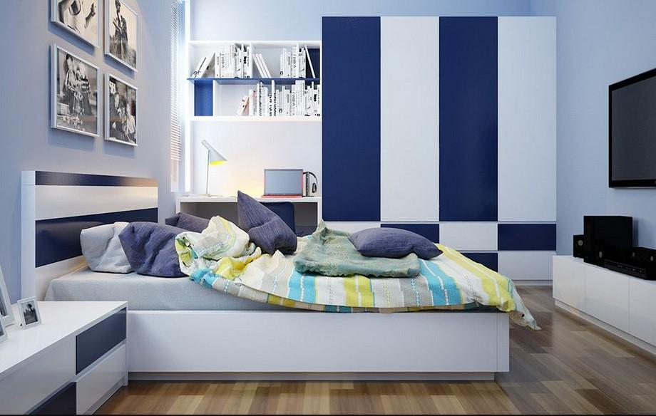 Thiết kế phòng ngủ nhà chung cư đẹp nhất 2019 phong cách hiện đại