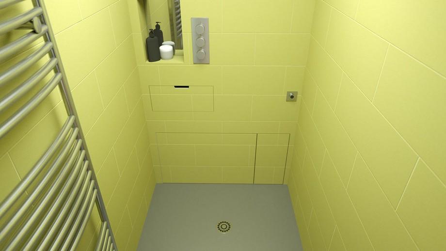 Khi ẩn 2 thứ đó đi sẽ có một không gian tắm thoải mái