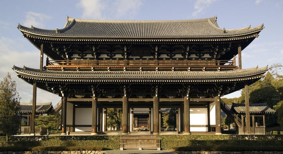 Cổng chùa Tofukuji Nhật Bản cổ kính