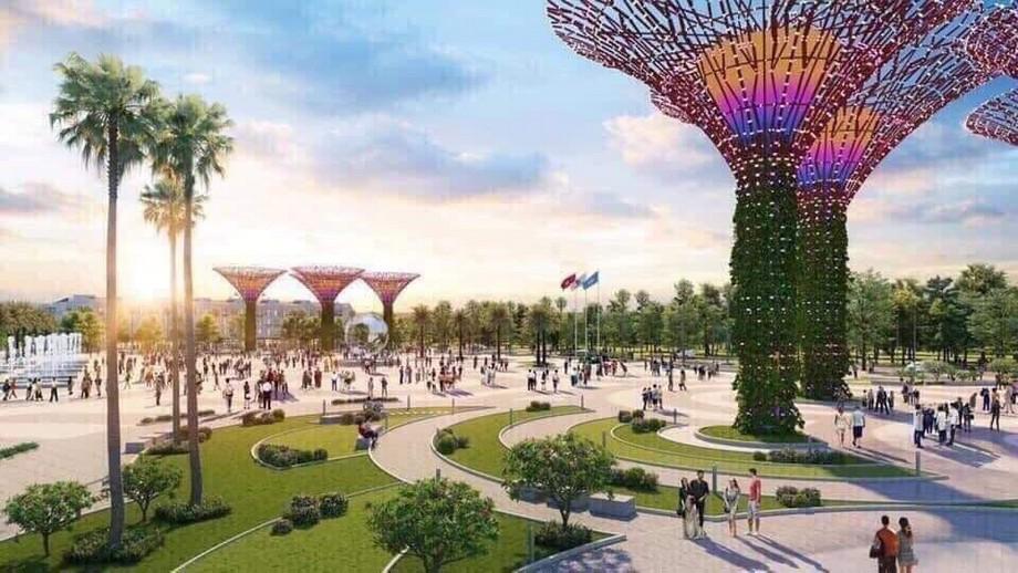 Công viên dự án đô thị Vinhomes Grand Park
