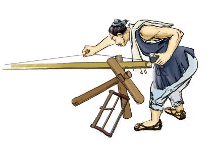 Lỗ ban-Thợ mộc bậc thầy huyền thoại - Người sáng tạo ra thước lỗ ban phong thủy