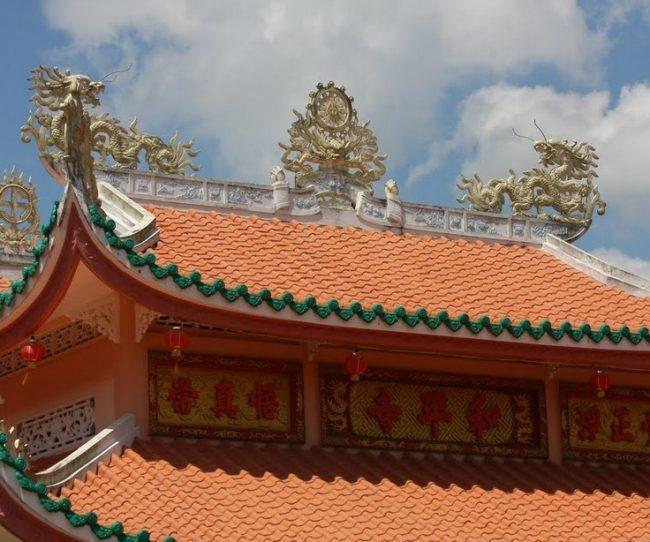 Mái chùa đẹp