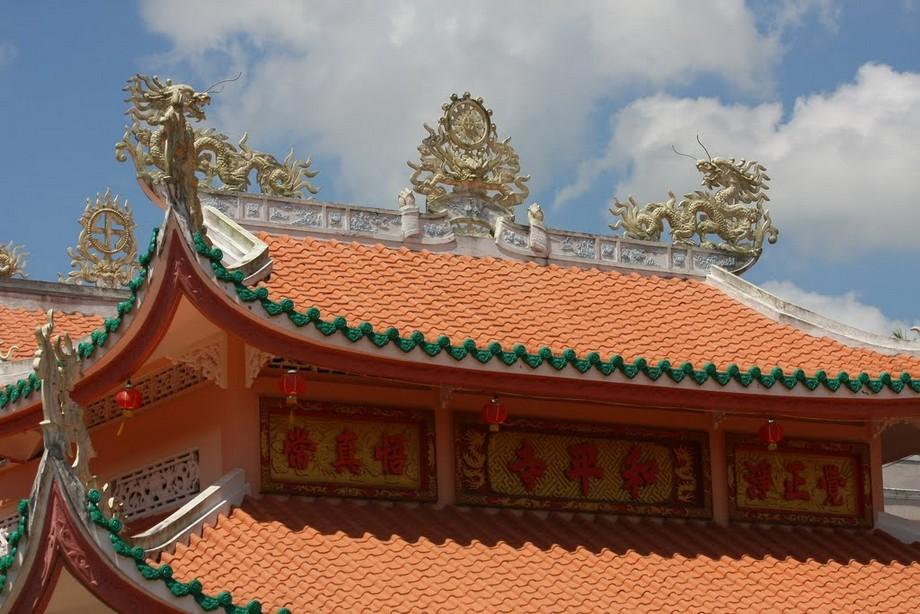 Mái chùa đẹp ở Hòa Bình