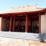 Thi công nhà thờ họ Nguyễn Quốc Hưng Nguyên Nghệ An 3 gian hai mái gỗ lim trên nền nhà thờ cũ