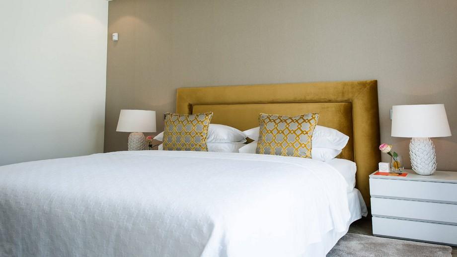 Thiết kế nội thất phòng ngủ nhỏ 1 của biệt thự hiện đại tại Nueva Andalucia