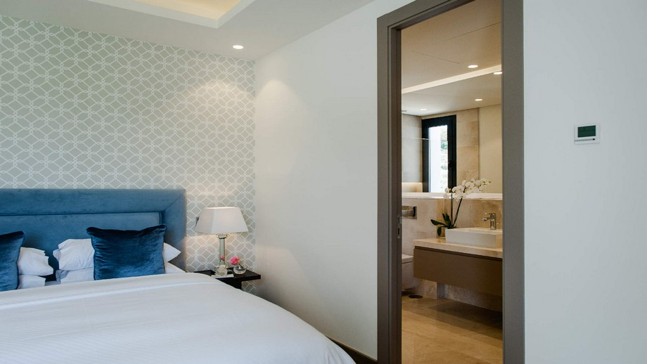 Thiết kế nội thất phòng ngủ nhỏ 2 của biệt thự hiện đại tại Nueva Andalucia