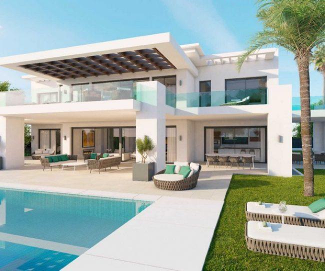 Thiết kế nội thất biệt thự hiện đại tại Nueva Andalucia