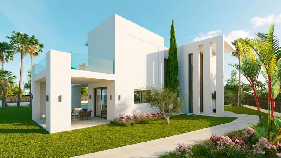 Thiết kế kiến trúc biệt thự hiện đại tại Nueva Andalucia