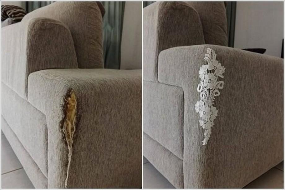 Cách vá chỗ rách sofa da và nỉ đẹp như mới