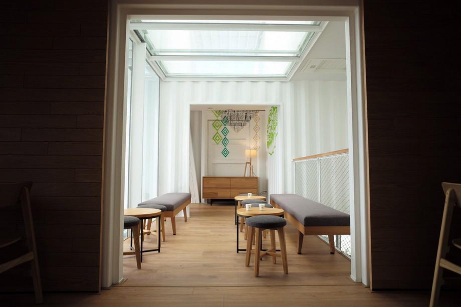 Một không gian ngồi uống cafe khác đẹp và đón ánh sáng chan hòa nhiều hơn