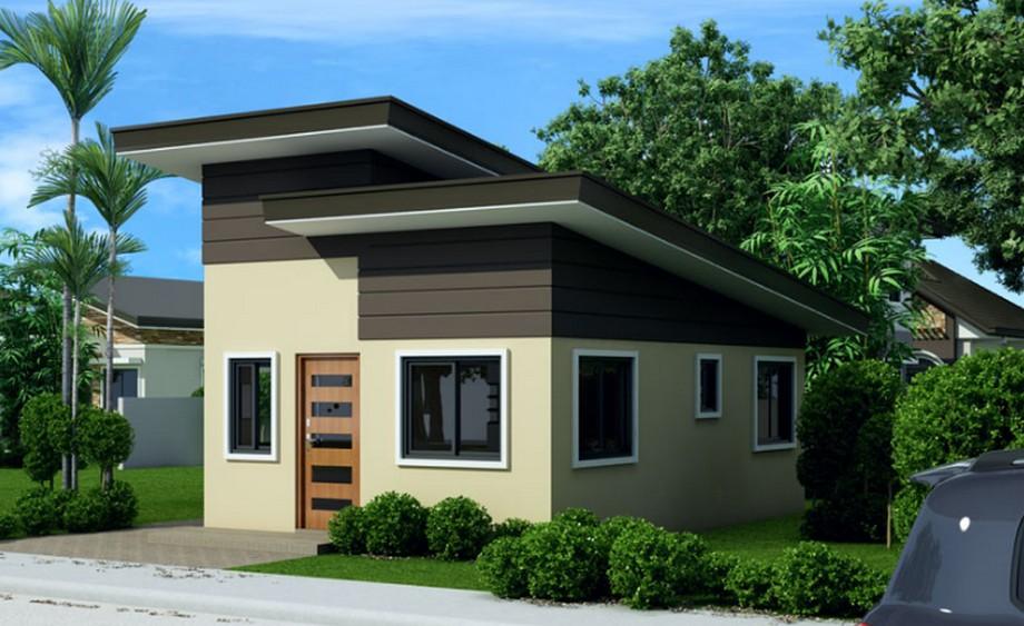 Măt nghiêng phải mẫu tkthiết kế nhà cấp 4 diện tích 5x10m