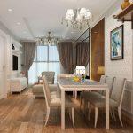 Phương án thiết kế nội thất chung cư tân cổ điển 100m2 sang trọng, ấn tượng