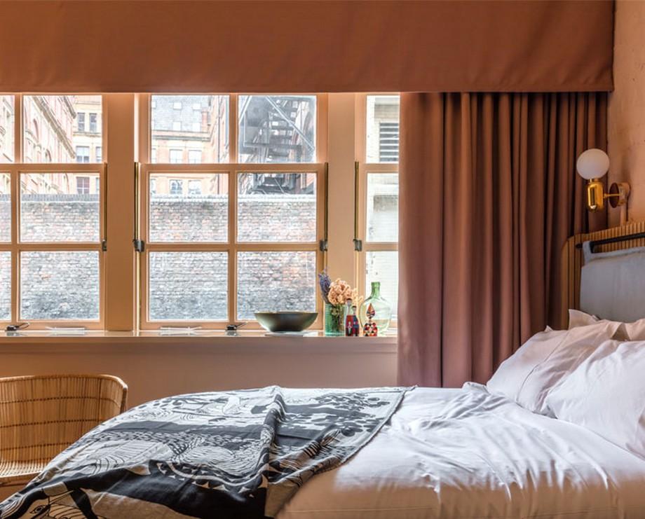 Thiết kế nội thất phòng ngủ với nét hoài cổ