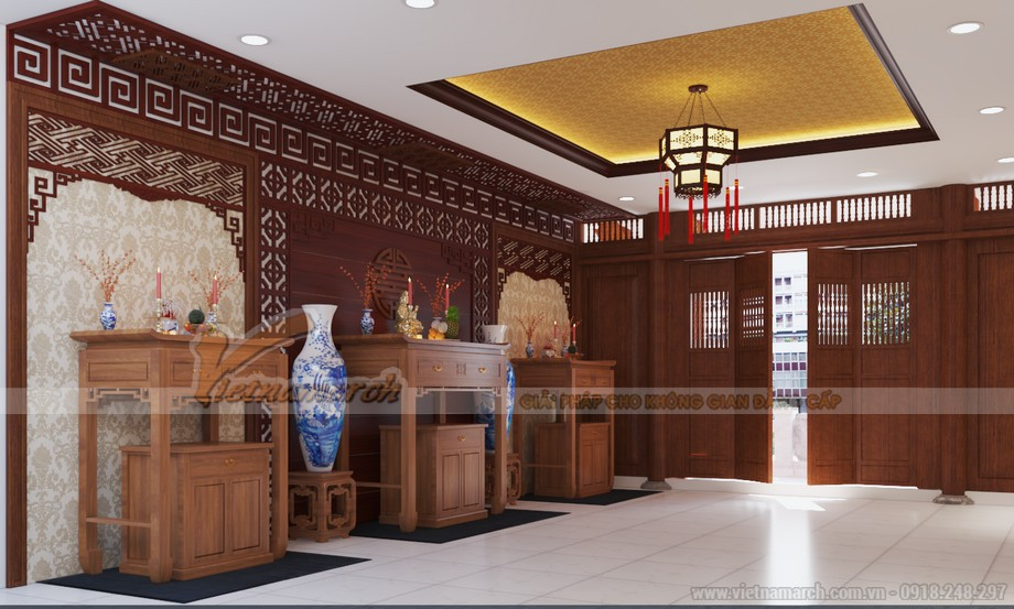 Thiết kế nội thất hiện đại trong nhà thờ họ