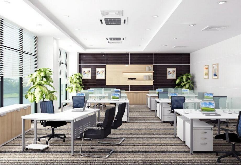 Thiết kế văn phòng 60m2 phong cách hiện đại