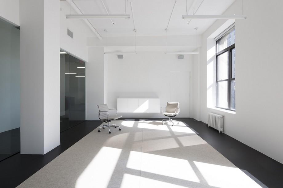 Thiết kế văn phòng khu vực hành lang
