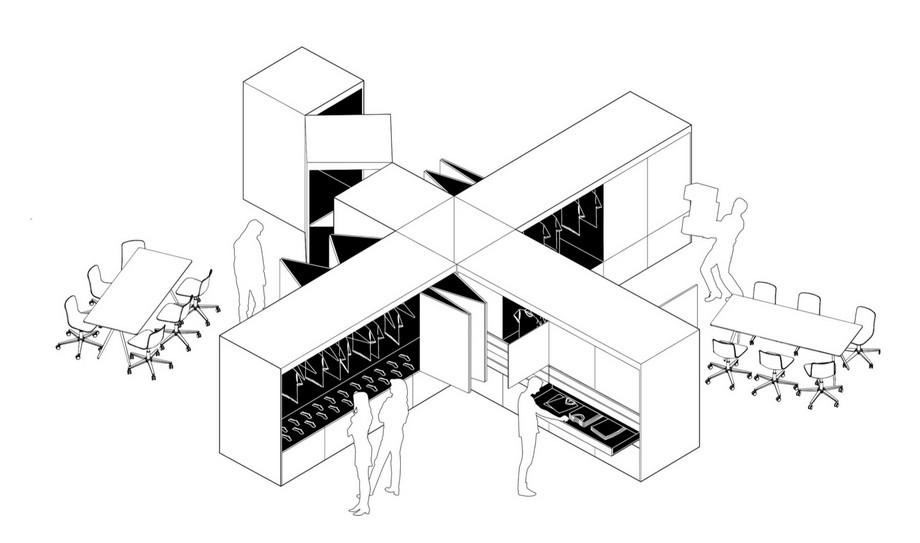 .Bản vẽ thiết kế văn phòng