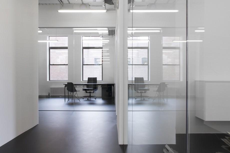 Thiết kế văn phòng khu vực làm việc độc lập