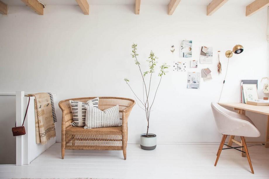 Thiết kế văn phòng làm việc tại nhà đẹp và lãng mạn