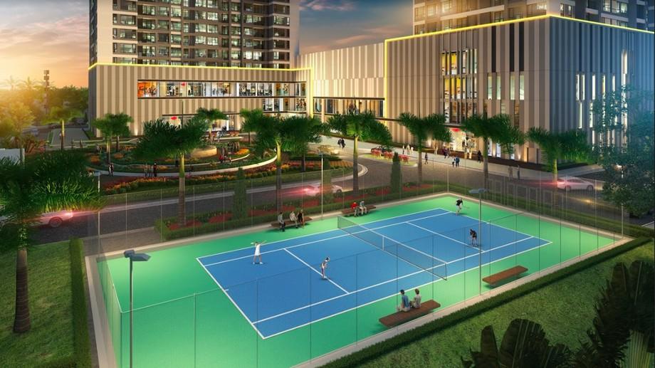 Sân thể thao của dự án Vinhomes Bắc Ninh