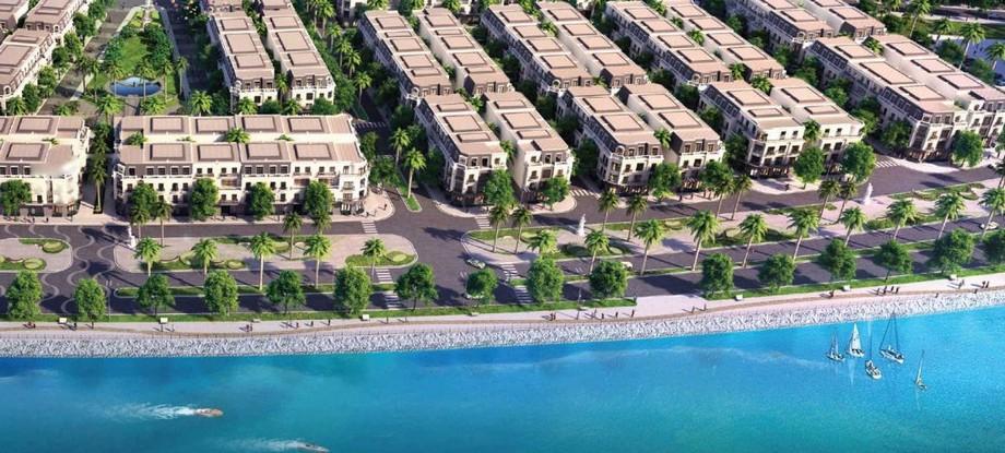Đường dạo ven biển dự án Vinhomes Dragon Bay