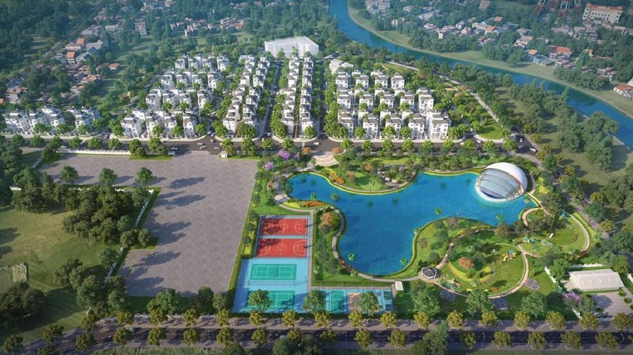 Phối cảnh dự án Vinhomes Green Villas