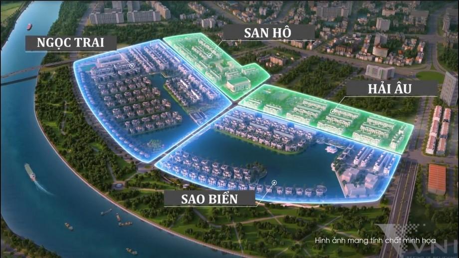 4 phân khu Vinhomes Marina